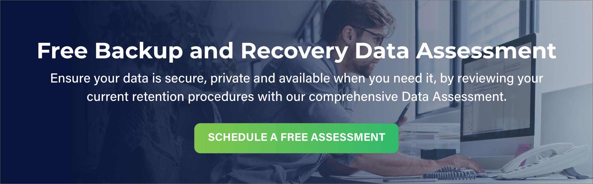 Free Data Assessment CTA Banner