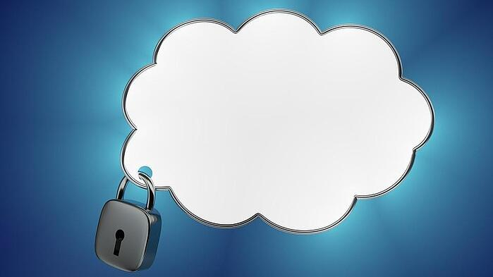 Padlock securing cloud data backup and recovery solution
