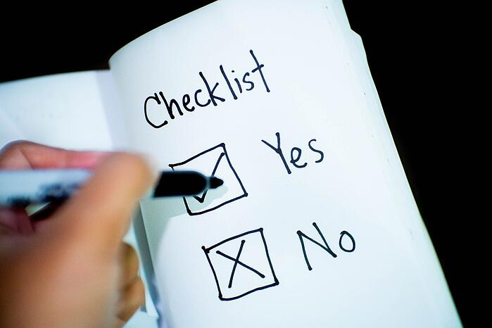 business recovery plan checklist